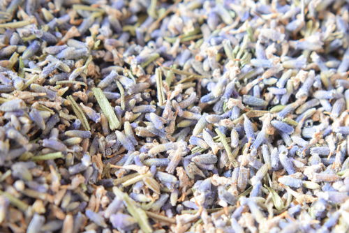 Dried lavender for aromatherapy