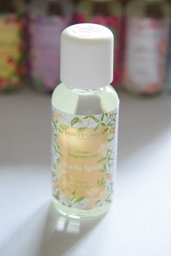 Vanilla Splash home fragrance oil 30ml