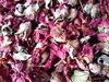 Dried rose buds and petals burgundy 100g x20