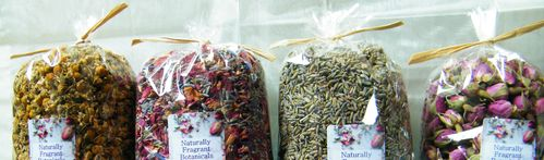 Dried flowers 50g pack mixed x20