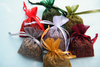 Lavender bag mini organza filled Christmas
