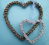 Open rattan heart wreath 50% OFF