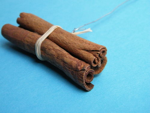 Cinnamon sticks wired