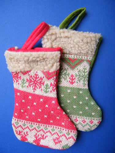 Two Christmas stockings 50% Off!