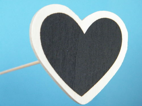 Blackboard heart pick
