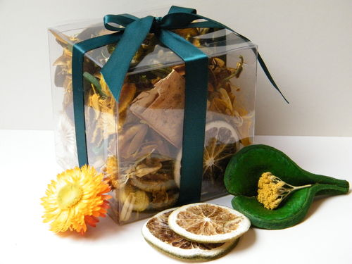 Sunshine Citrus potpourri gift box