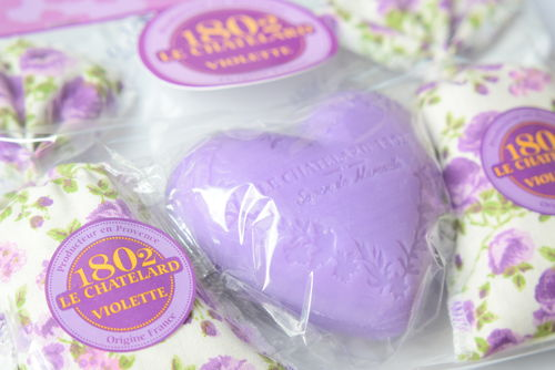 Violet scented gift set 50% OFF!