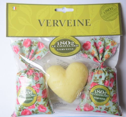 Lemon verbena scented gift set
