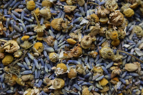 Dry lavender & chamomile soothing mix