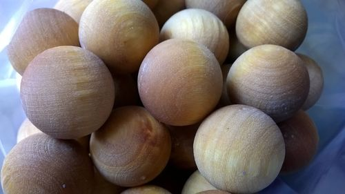 Lilac and Lavender wooden balls bulk pack