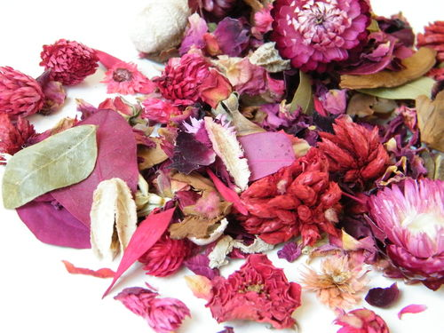 English Rose pot-pourri cellopack
