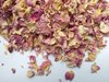 Pale pink rose petals natural confetti