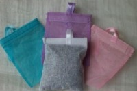 Lavender bag - cotton pouch filled - bulk pack