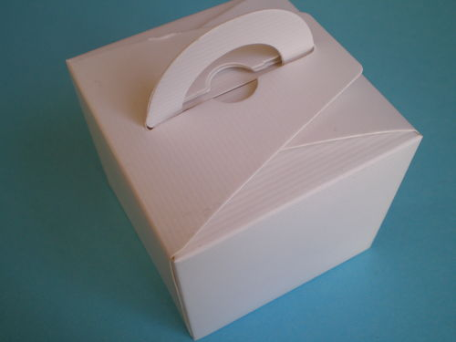 Confetti box small ivory