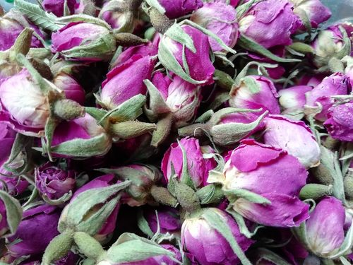 Pink rose buds fragranced