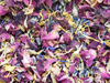Cornflower mix confetti with marigold petals