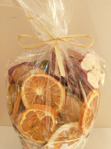 Mixed dried fruit for craft and home decor 250g