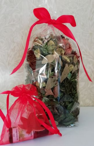 Woodland potpourri gift pack with oil
