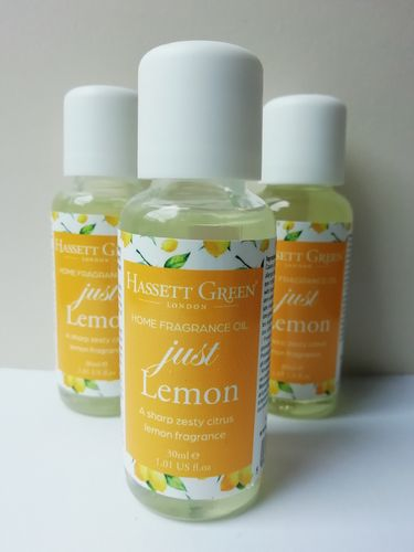Just Lemon home fragrance oil 30ml