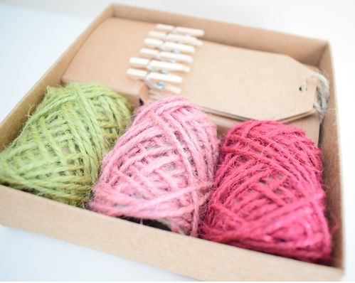 Coloured hemp twine set £1.50 Off