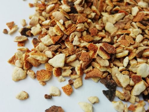 Dried orange peel pieces wholesale