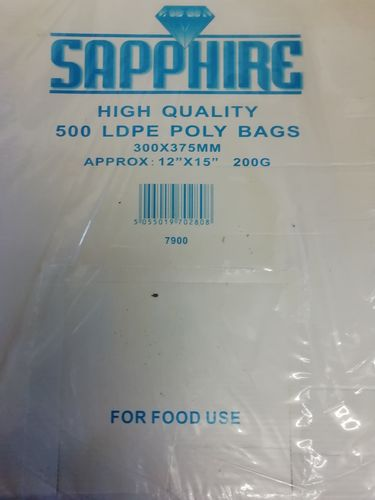 Clear plastic bag full box *Sale