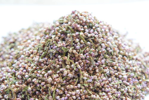 Natural heather wedding confetti - litre