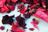 Red velvet rose petal confetti mix - litre