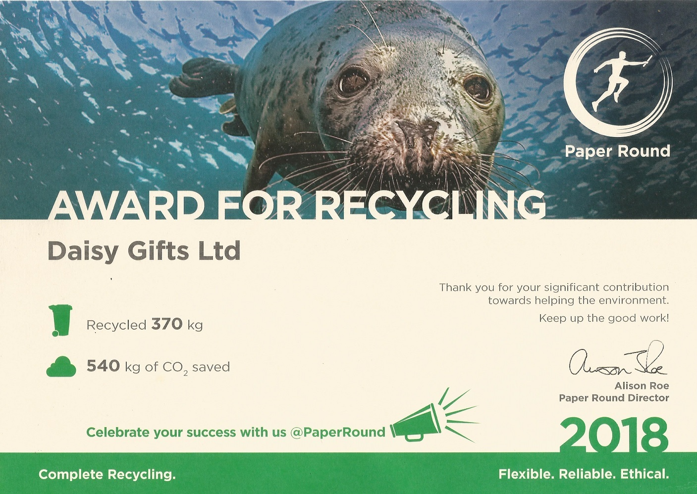 daisyshop_recycling_certificate_2018