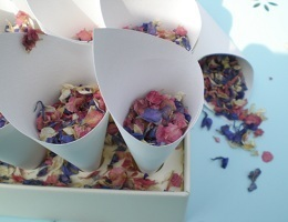 buy dried roses | wedding confetti petals